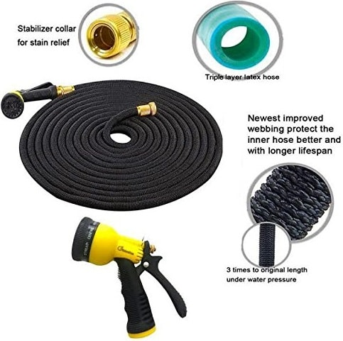 NaturoHose Expandable Garden Hose - described