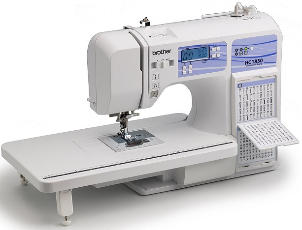 Brother HC1850 sewing machine full board