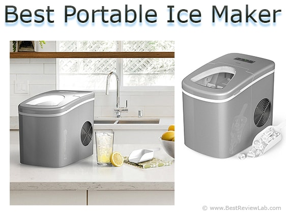 Frigidaire 26 Lb Freestanding Ice Maker In Stainless Steel Efic103 Portable Ice Maker Ice Maker Machine Ice Maker